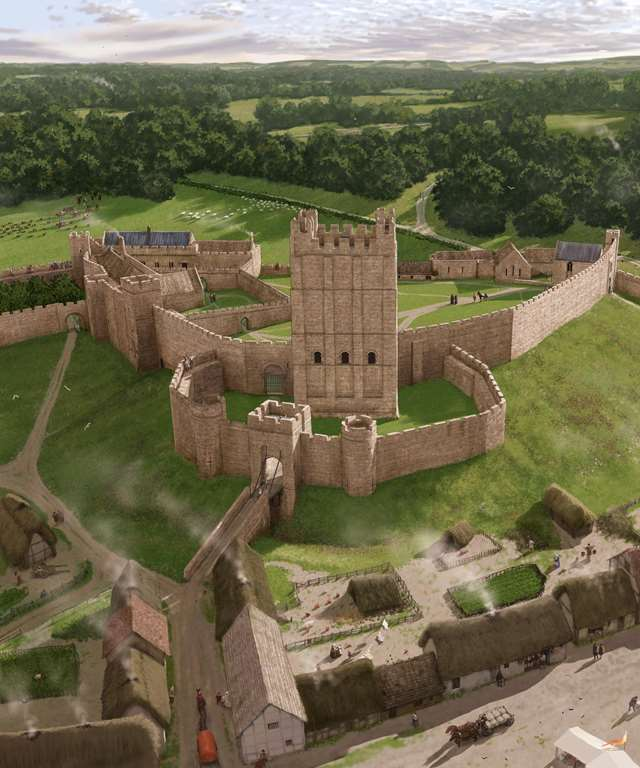 5c017d94c7 Reconstruction of Richmond Castle keep
