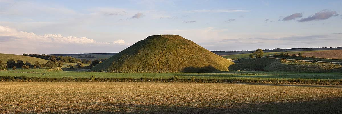 A general view of Silbury Hill