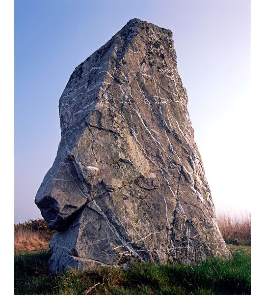 The largest and heaviest monolith in Cornwall with an intricate array of quartz seams
