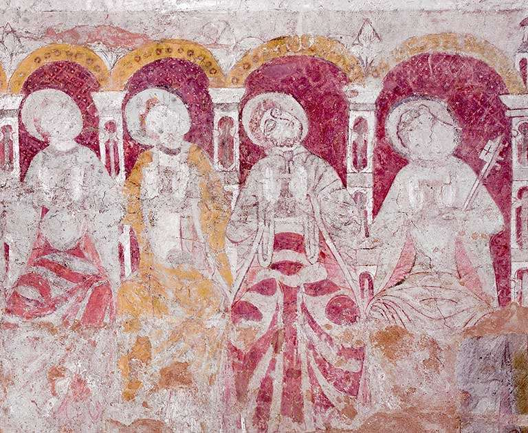 The Apostles (chancel, early 12th century)