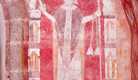A Bishop (chancel, early 12th century)