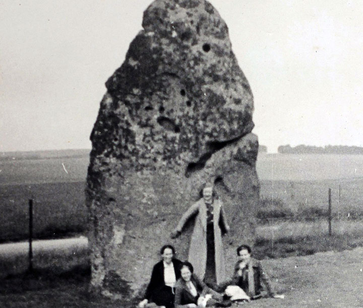 Ferguson's Gang at the Heel Stone in 1937