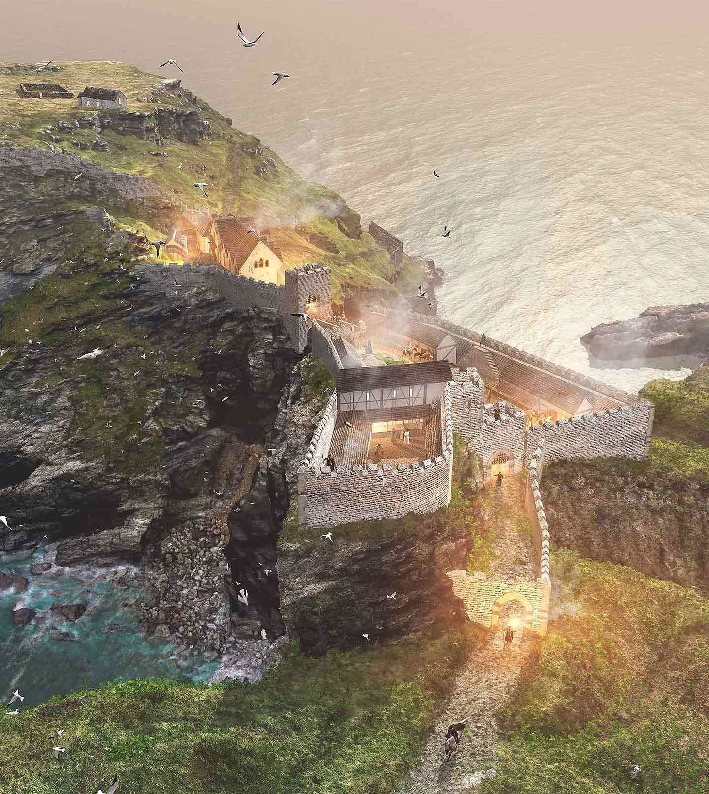 History of Tintagel Castle | English Heritage