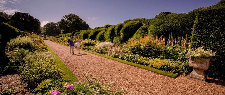 A view along the planting of Walmer's Broadwalk garden.