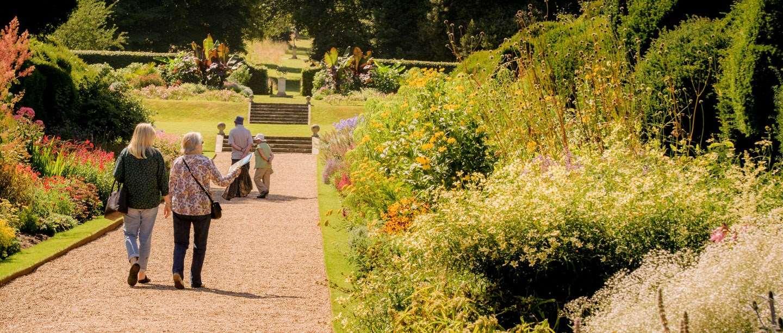 Walmer Castle, pictured from the Kitchen Garden.