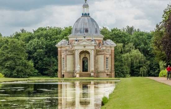 The Archers Pavillion in the Wrest Park grounds.