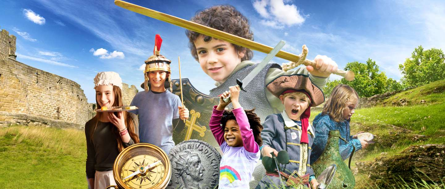 Montage of children at our events